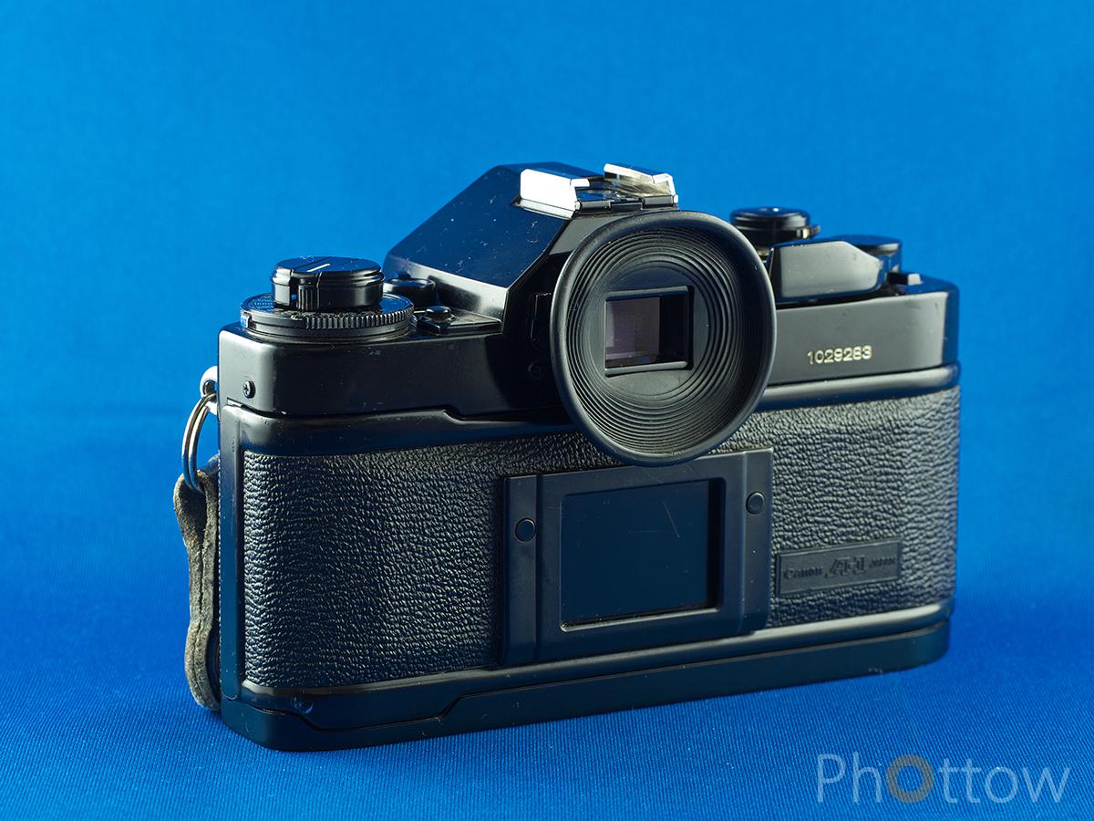 Canon A-1 Rückansicht