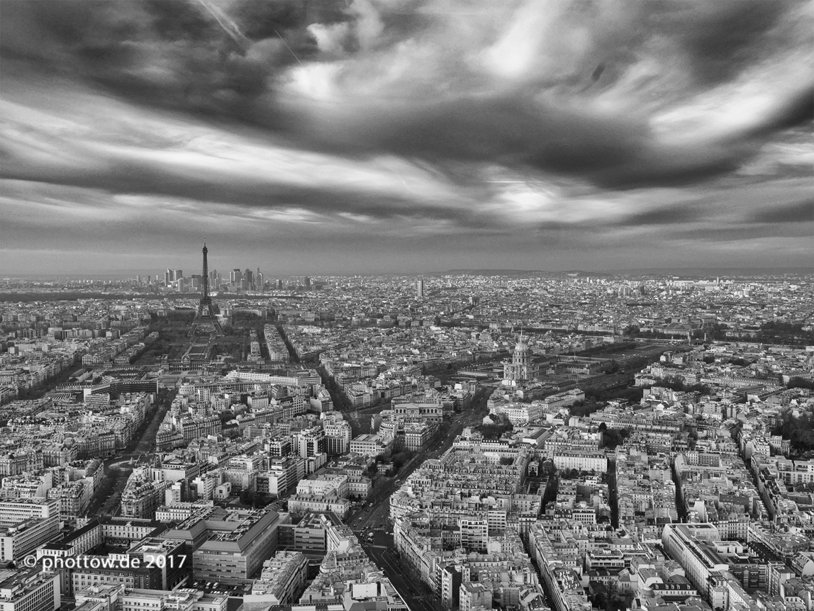 Eiffelturm vom Tour Montparnasse