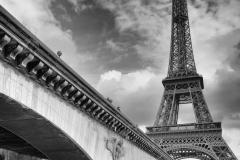 Eiffelturm vom Port Debilly
