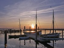 Sonnenuntergang – Ostsee April 2014